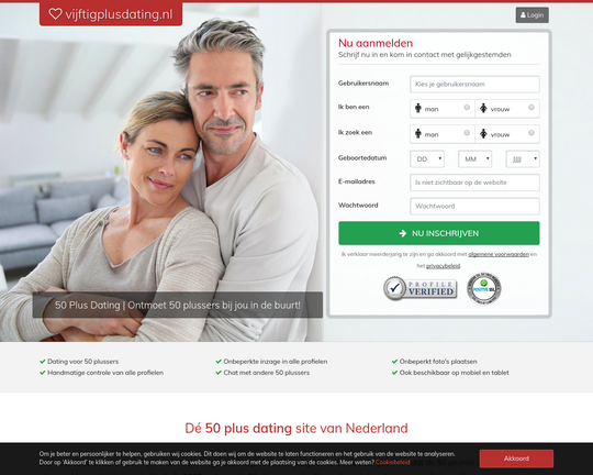 Beste dating-website 50+