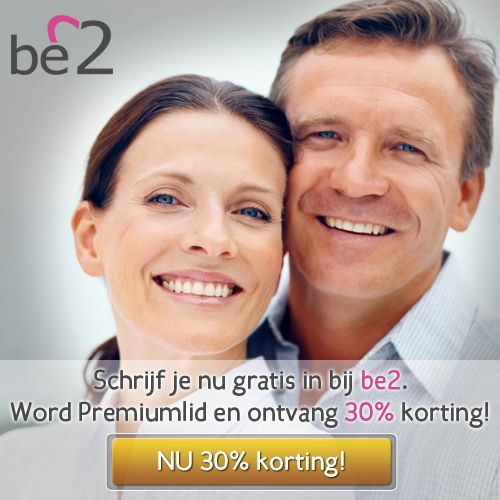 be2 30 procent korting